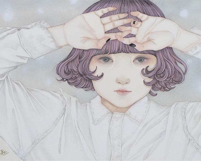 佐久間友香 「透明な世界」 6号F 税込132,000円
