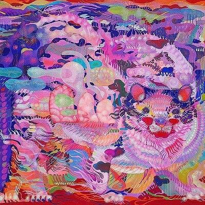 田中 香里 豪雨の朝に キャンバスにアクリル絵の具 F12号