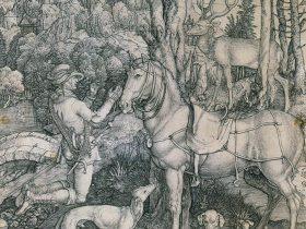 コレクション・ストーリーズ ヨーロッパの版画 アルブレヒト・デューラー《聖エウスタキウス》1501年頃
