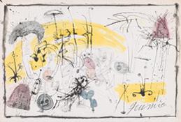 《無題》 水彩,インク,紙 37.5×53.5cm 1962 photo: 石戸晋