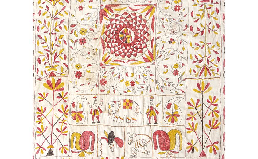敷布[カンタ] ベンガル地方 19世紀後半