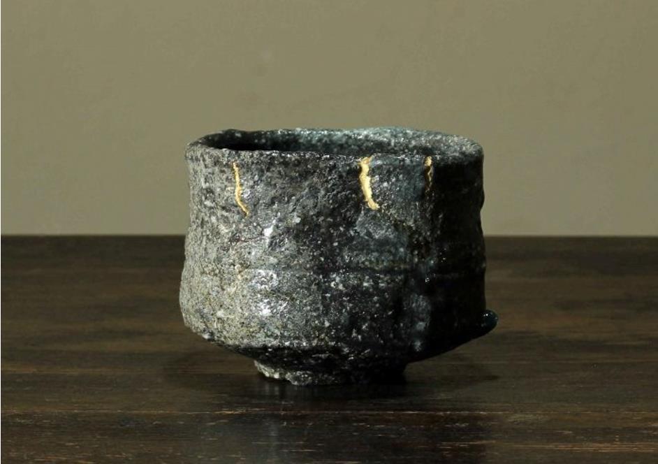 信楽茶盌  サイズ:13.1x12.9x高さ10㎝