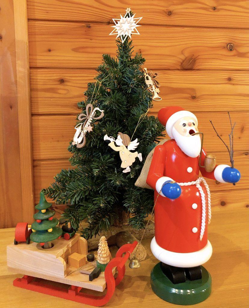 サンタのパイプ人形/Rainer Franke