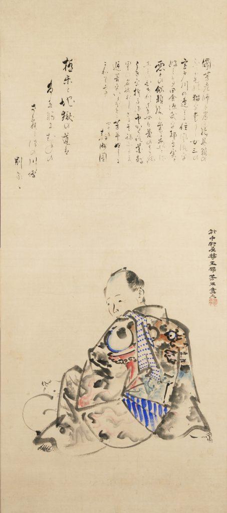 月岡芳年「歌川国芳肖像」 (PARTⅠ)