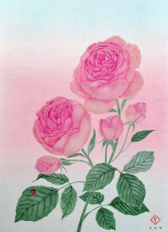 愛の花  4号