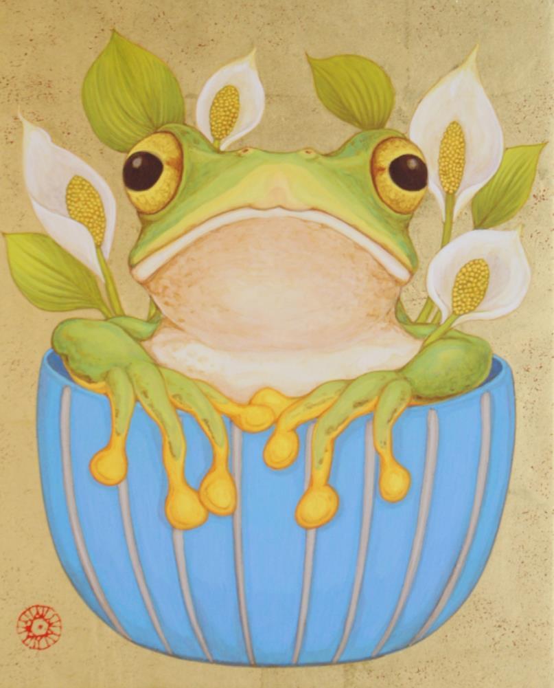 「frog cap」 F3