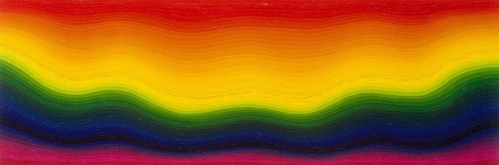 靉嘔《虹のエンバイラメント》1962年 目黒区美術館蔵