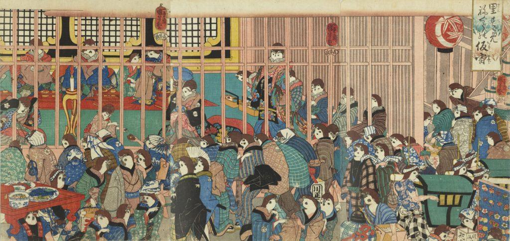 歌川国芳「里すゞめねぐらの仮宿」(PARTⅠ)