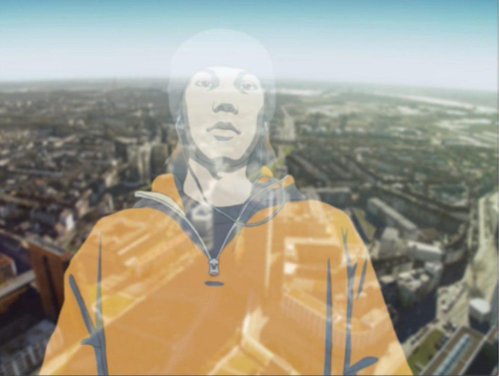 佐藤雅晴《TRAUM》2004-2007年 アニメーション、シングルチャンネル・ビデオ(SD、カラー、サウンド) 10分7秒