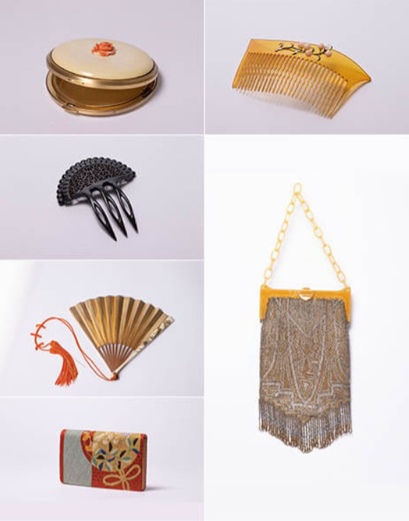 谷崎家の女性達が用いた装飾品 夕顔コレクション/蔵