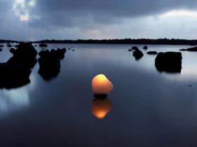 コ・スンウク≪石の蝋燭 7≫顔料印刷(2010)©Koh Seung Wook