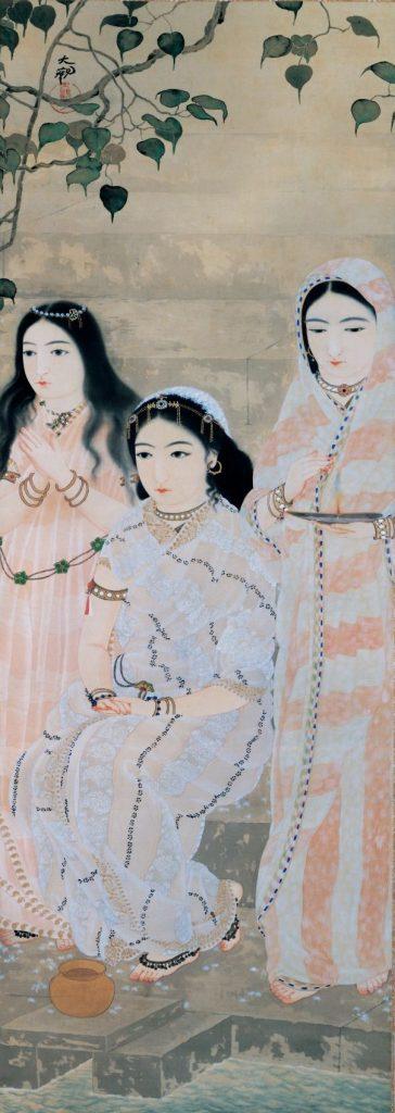 横山大観「流燈」 1909年 茨城県近代美術館