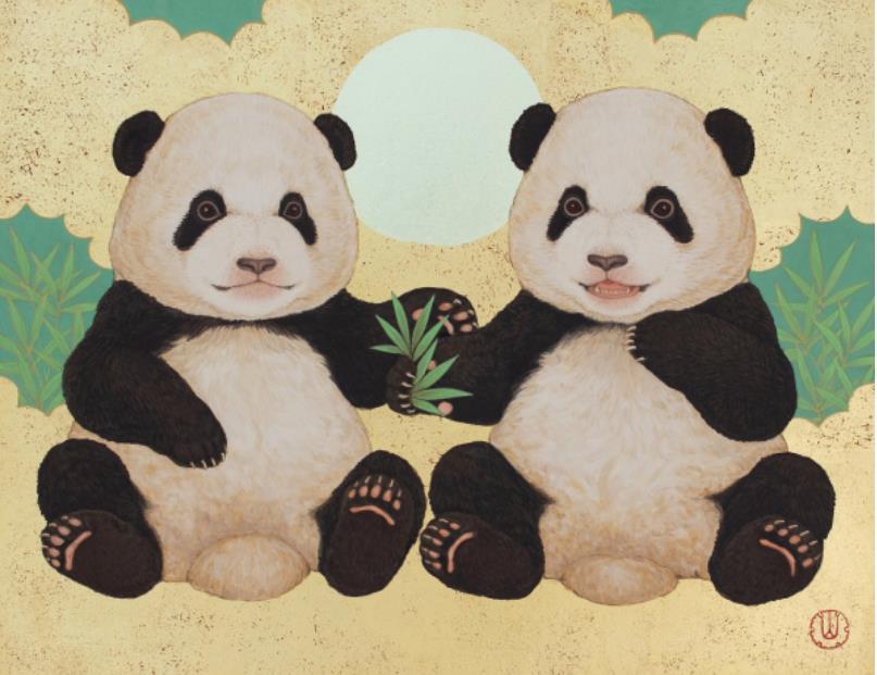 「大熊猫の宴」  F6