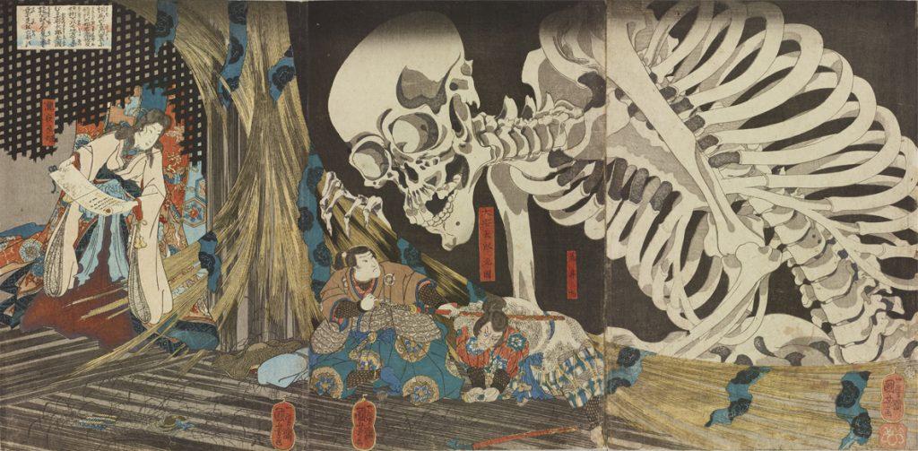 歌川国芳「相馬の古内裏」個人蔵(PARTⅡ)