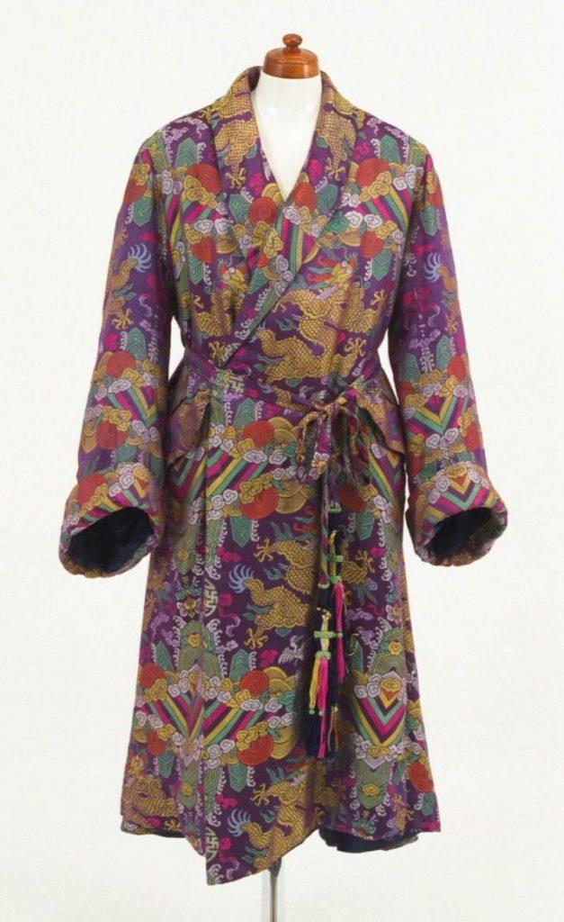 中国風の模様の室内着 フランス 1910年代