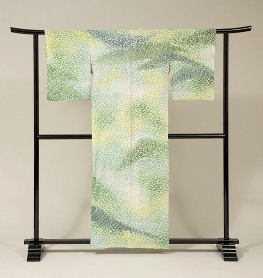 松子夫人着用の着物  稲垣稔次郎/作 個人蔵
