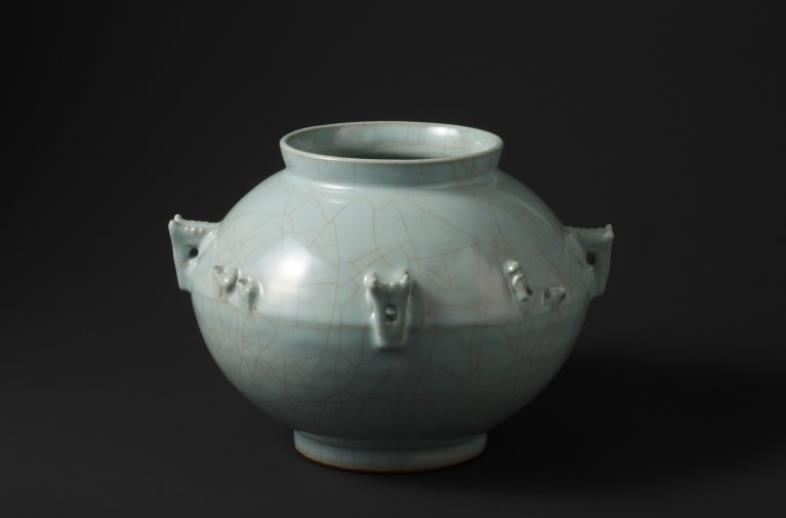 青磁花瓶「シルクロード」 1987年