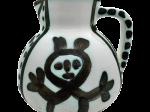 パブロ・ピカソ 「Little-headed pitcher(小人の水差し)」 H13×W14.5cm 1953年