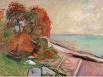 エドヴァルド・ムンク《浜辺の風景》 メナード美術館 初公開コレクション
