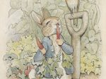 《『ピーターラビットのおはなし』挿絵用の原画》 1902年 フレデリック・ウォーン社 (C) Frederick Warne & Co. Ltd, 2017