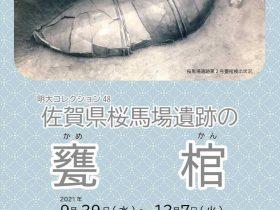 明大コレクション48「 佐賀県桜馬場遺跡の甕棺 」明治大学博物館