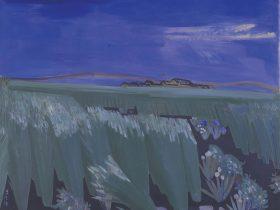 野口謙蔵《五月の風景》1934年 滋賀県立美術館蔵