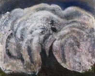 三岸節子《さいたさいたさくらがさいた》1998(平成10)年 油彩、キャンバス 130.0×160.0cm 一宮市三岸節子記念美術館蔵 ©MIGISHI