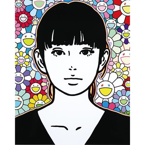 KYNE 「Untitled:Q」 シルクスクリーン 57×45.6㎝