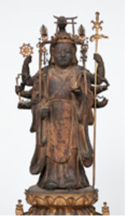 弁才天立像 鎌倉時代・13~14世紀 兵庫 鶴林寺