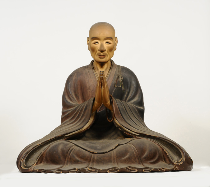 真盛上人坐像 天正9年(1581年) 西教寺蔵