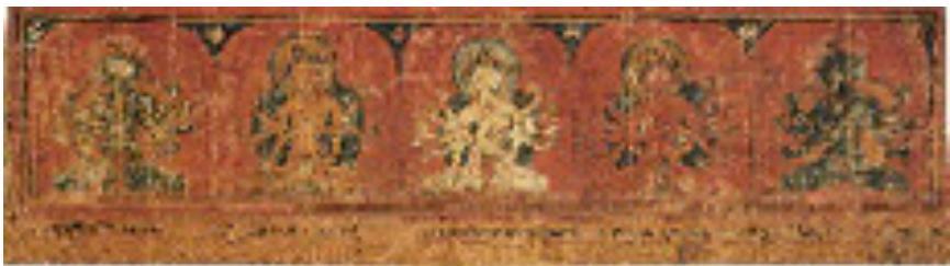 五護明妃像 ネパール 15~16世紀 北村コレクション <前期>