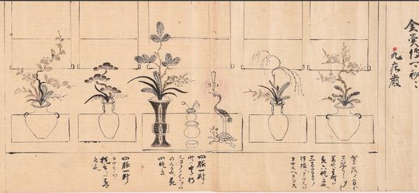 花伝書 室町時代 西教寺蔵
