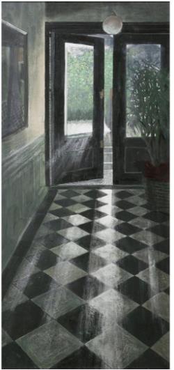『朝晃』/P80号(145.5×97.0cm)  第74回春の院展