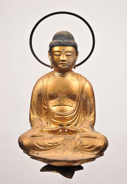 重要文化財 化仏 阿弥陀如来坐像(本尊)付属 平安時代 西教寺蔵