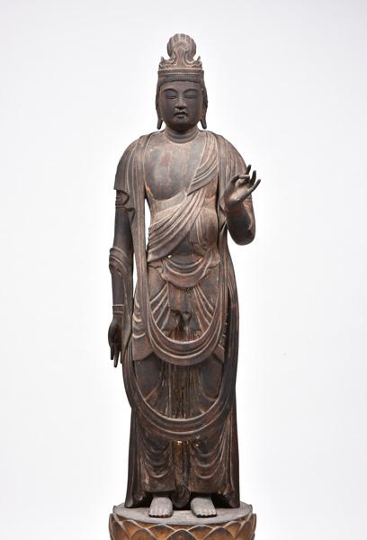重要文化財 聖観音立像 平安時代 西教寺蔵