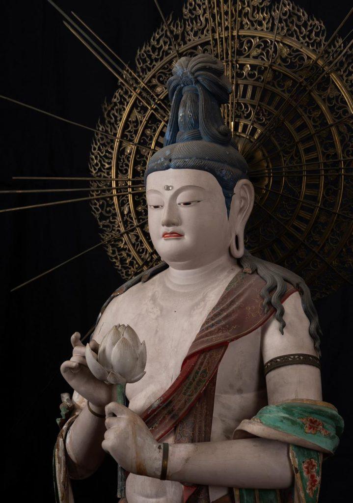 聖観音菩薩立像(運慶・湛慶作)  鎌倉時代