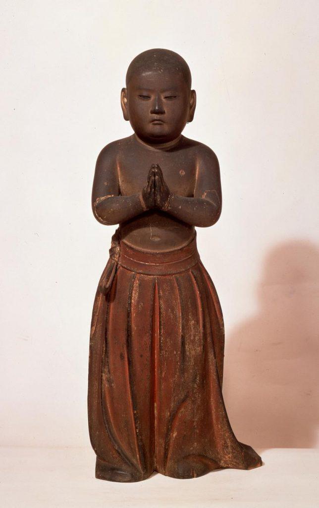 聖徳太子立像(南無仏太子)   満性寺蔵