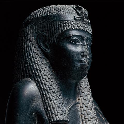 女神立像 エジプト 紀元前270-246年