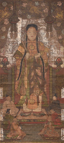 聖徳太子像 室町時代 西教寺蔵