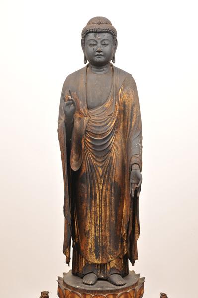 阿弥陀如来立像 鎌倉時代 西教寺徳乗坊蔵
