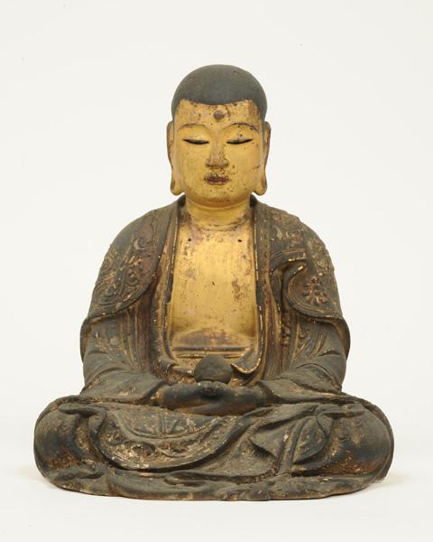 地蔵菩薩坐像 南北朝時代 八屋戸・西福寺蔵