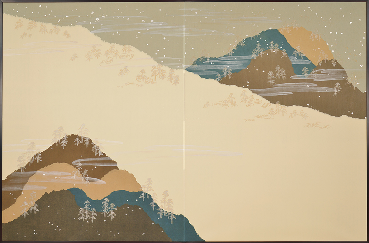 平安の雅・山》 平成12年(2000) 公益財団法人京都伝統産業交流センター蔵