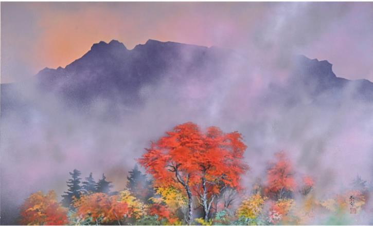 石鎚の秋(50M)