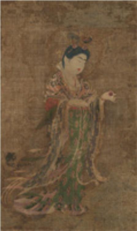 [国宝] 吉祥天像 奈良時代・8世紀 奈良 薬師寺(©飛鳥園) <9/18~9/24>