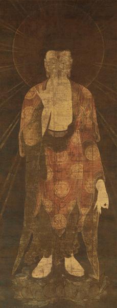 重要文化財 阿弥陀如来像 鎌倉時代 西教寺蔵 【展示期間:11月2日から11月23日まで】
