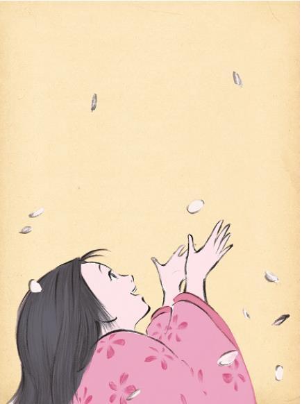 「かぐや姫の物語」 © 2013 畑事務所・Studio Ghibli・NDHDMTK