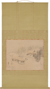 与謝蕪村 《山家》 天明2年(1782)頃 個人蔵