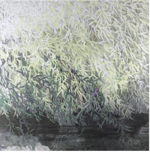 『柳韻』/S40号(100.0×100.0cm)