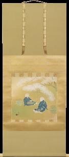 土田麦僊 《大原女》 昭和10年(1935)頃 小さなサロン美術館蔵