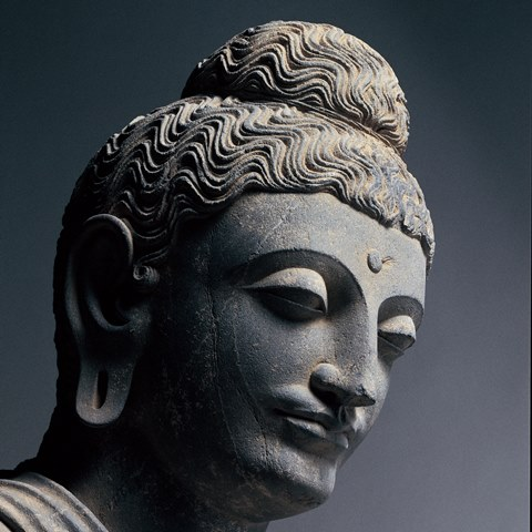 仏立像 ガンダーラ 2世紀後半